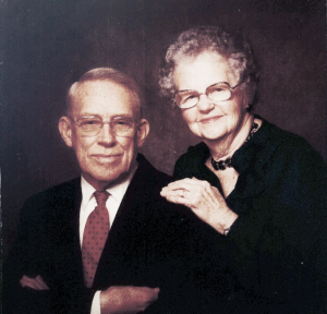 Atty. Tenney Lantz's parents are pictured. Father (left) and Mother (right)